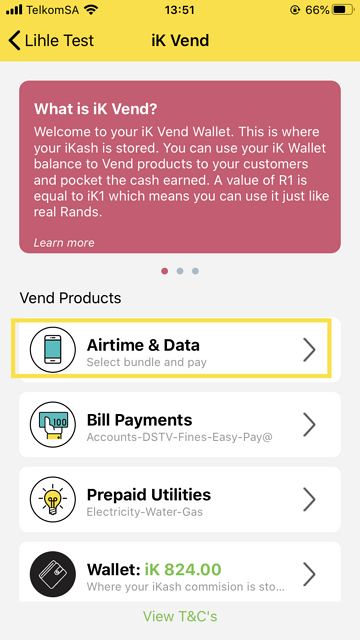 Airtime & Data